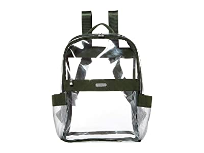 Baggallini Clear Event Compliant Medium Backpack (Deep Green) Backpack Bags