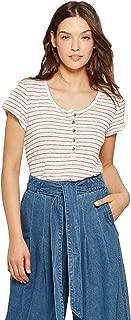 Women's Short Sleeve Henley Shirt