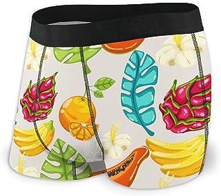 Men's Boxer Briefs Hip Underwear With Comfort Waistband Kawaii Ice Cream