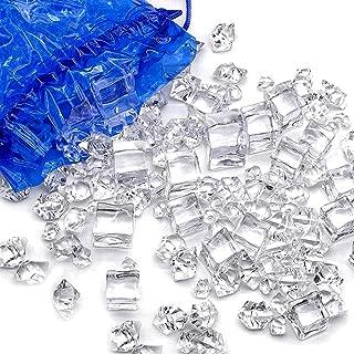 DomeStar Fake Ice, 2Lbs Plastic Crystals ice Cubes