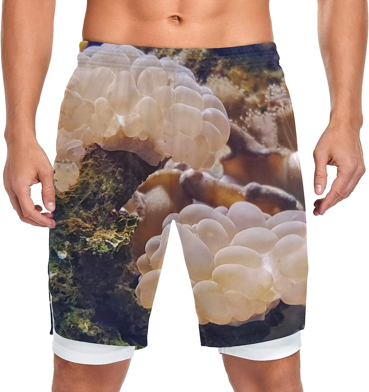 XDCGG Running Shorts Grape Japan Maker New Coral Bladder Men Bubble Traini San Antonio Mall