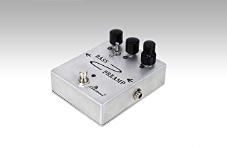 2019 Hand Made 3 - Band W/Mid SW Bass Preamp Pedal With 1590BB Diecast Aluminum Box