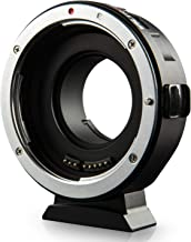 Viltrox AF Auto Focus Lens Mount Adapter with Aperture Control, EXIF Transmitting for Canon EOS EF/EF-S Lens to M4/3 Olympus Panasonic Camera GH4 GH5 GF6 GX7 E-M5 E-M10II E-PL5