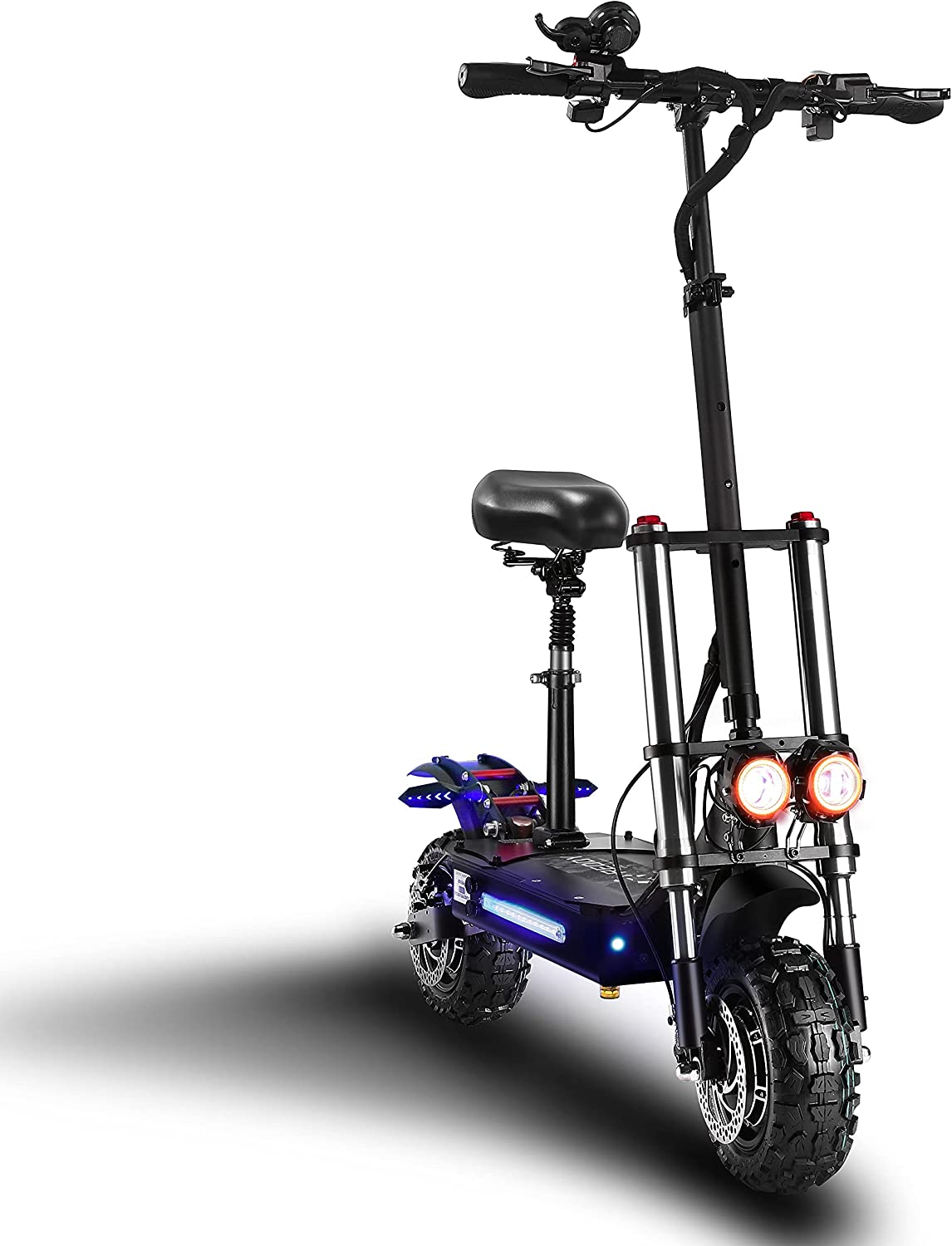 ReddyRD1 Electric Scooter Max Speed Total Power 6000W 60MPH 与え 65 限定モデル