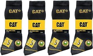 41,42,43,44,45,46,47,48,49 CAT Caterpillar Arbeitssocken,12 Paar,Schwarz,Socken