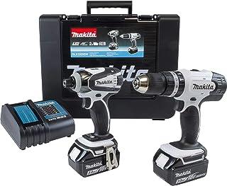 Makita DLX2020SW Cordless Combi Drill & Impact Driver Twin Pack, 18 V