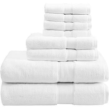 orpheebs - Toallas de baño de lujo, 660 g/m2, 100% de algodón peinado de cero torsión. HOTEL SPA. Suavidad máxima y ...