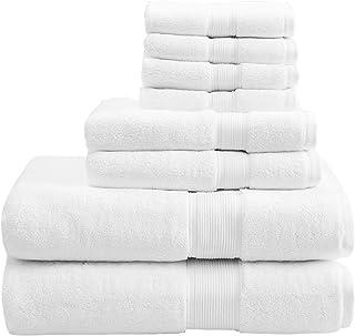 100/% cotone egiziano pettinato super morbido asciugamani 600 GSM Completamente assorbente Qualit/à Premium Miami