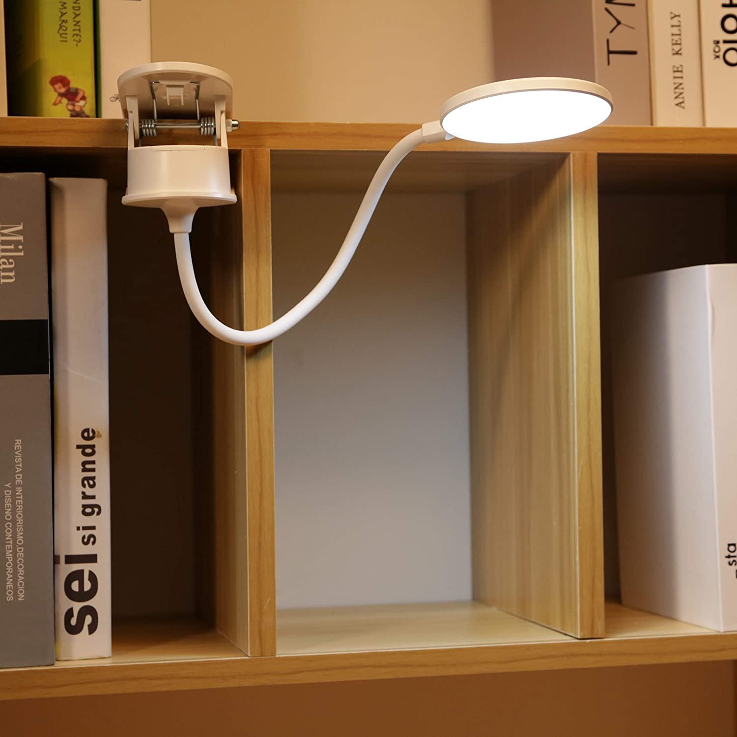 Max 59% OFF Miday Clip on Lamp Battery Light Reading New arrival fo Powered