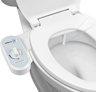 Greenco Bidet Fresh Water Spray Non-Electric Mechanical Bidet Toilet Seat Attachment