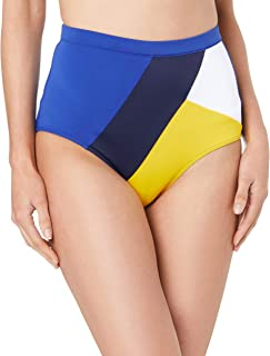 Tommy Hilfiger Women's Retro High Waisted Bikini Bottoms