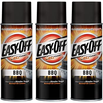 Easy-Off BBQ Grill Cleaner, Degreaser 14.5 oz Can (Pack of 3)