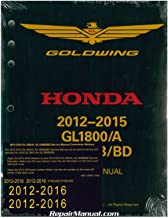 61MCA65 2012 ? 2016 Honda GL1800A/B GoldWing Motorcycle Service & Electrical Troubleshooting Manuals