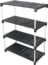 Ebee Multipurpose Rack (4 Step, Grey)