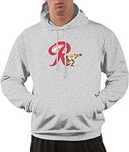 Cool Rainier Beer Logo Mens Long Sleeve Pullover Hoodie Pocket Sweatshirts