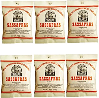 Claeys Old Fashioned Hard Candy - 6 oz - 6 Pack - Sassafras - Since 1919