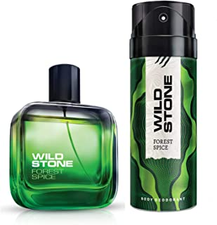 Wild Stone Forest Spice Perfume and Deodorant Combo (100 ml+150 ml)