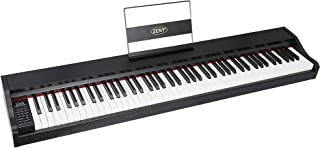 ZENY 88 Key Beginner Digital Piano Full Size Keyboard with S