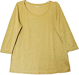 Eileen Fisher NWT Silk Cotton Jersey Parrot Top L MSRP $138.00