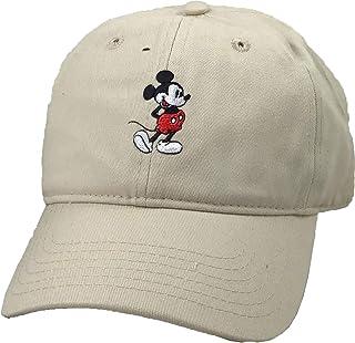 Men's Mickey Washed Twill Baseball Cap, Adjustable