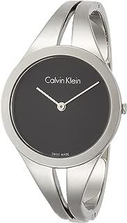 Calvin Klein Women's Analogue Quartz Watch with Stainless Steel Strap K7W2S111