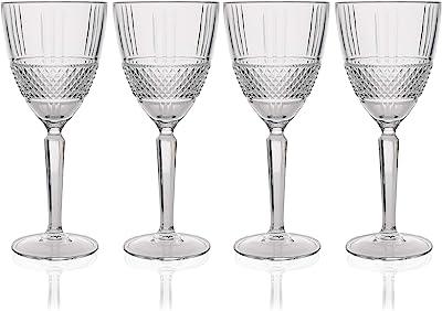 Maxwell Williams Verona Wine Glass 4-Pieces Set Gift Boxed, 180 ml Capacity