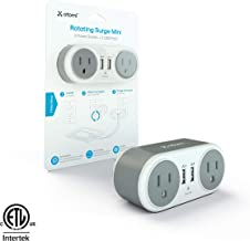 Rotating Wall Plate 2 Power Outlets + 2 USB Ports