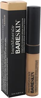 bareMinerals Bareskin Complete Coverage Serum Light Concealer for Women, 0.2 Ounce