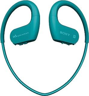 ソニー SONY ヘッドホン一体型ウォークマン Wシリーズ NW-WS623 : 4GB スポーツ用 Bluetooth対応 防水/海水/防塵/耐寒熱性能搭載 外音取込み機能搭載 ブルー NW-WS623 L