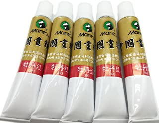 chinese brush painting peony