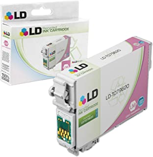 LD Remanufactured Ink Cartridge Replacement for Epson 79 T079620 High Yield (Light Magenta)