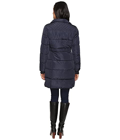 Fur Waist Puffer Detail Long and Simpson Faux Hood Jessica w wzZq4T