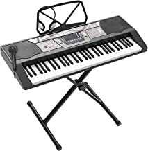 LAGRIMA LAG-350 61 Key Portable Electric Keyboard Piano with