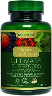 Natures Aid Organic Ultimate Superfoods Powder, 150 G
