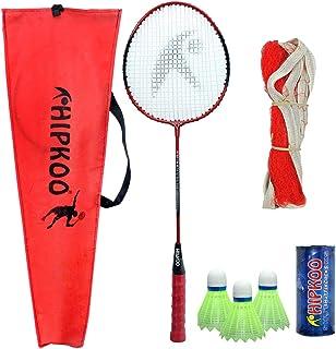 Hipkoo Sunrise HR 12 Lightweight Badminton Combo Badminton Kit