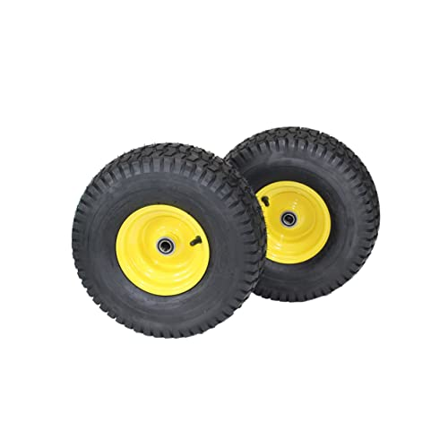 john deere parts amazon com set of 2 15x6 00 6 tires wheels 4 ply for