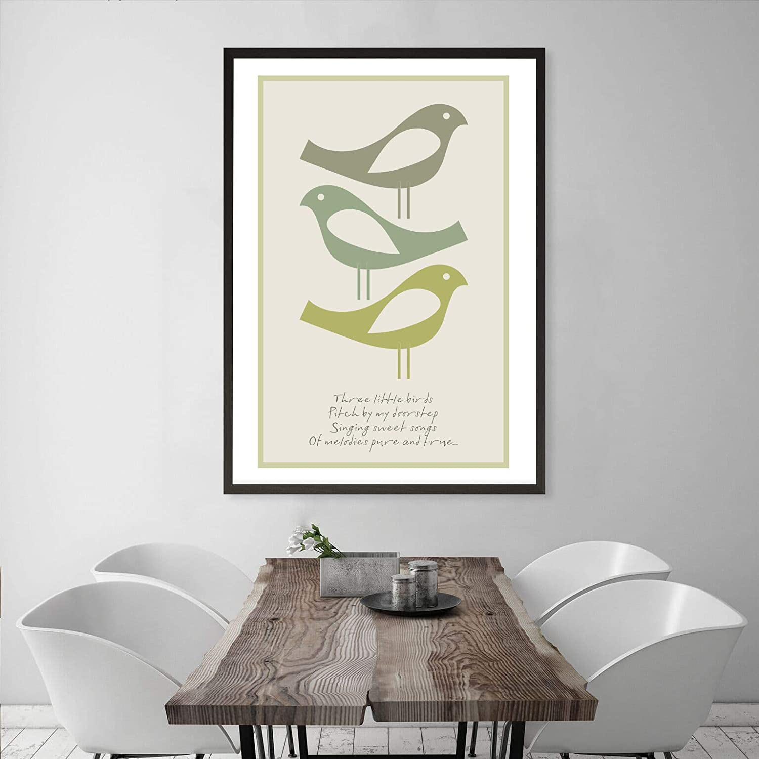 lowest Complete Free Shipping price VisualPhilosophy Three Little Birds - Bob 20 Marley x 16 Poster