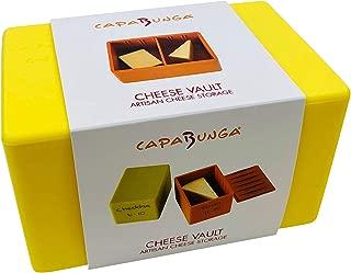 Capabunga CV5 Vault Cheese Storage Box, Butter