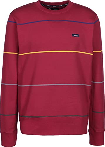 Nike M NK SB Top evrt Stripe T-Shirt, Homme, MultiCouleure (rouge Crush Obsidian)