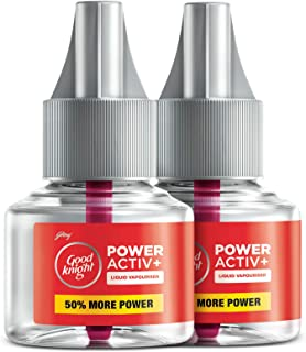 Good Knight Power Activ+, Mosquito Repellent Refill (Pack of 2)