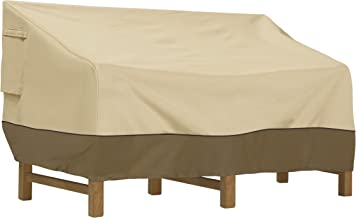 Classic Accessories Veranda Patio Deep Seat Sofa Cover - Durable and Water Resistant Outdoor Furniture Cover, Medium