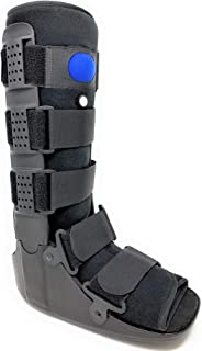 Superior Braces High Top, Low Profile Air Pump CAM Medical Orthopedic Walker Boot for Ankle & Foot Injuries (Medium)
