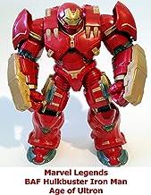Clip: Marvel Legends BAF Hulkbuster Iron Man Age of Ultron