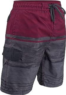 Matereek Mens Swim Trunks Grey Heaven Bathing Suit Shorts