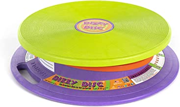 Dizzy Disc Original. Sit and Spin Disk for 3+ year olds up to 150 lbs. Balance, Coordination, Spatial Awareness and Sensory Stimulation Portable.