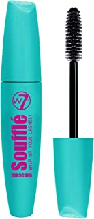 W7| Soufflé Mascara | Long-Lasting Formula | Black Mascara With Thick Bristle Shaped Brush For Volume And Length | Cruelty...