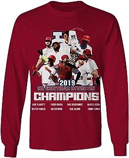 St Louis Baseball 2019 Central Champions Jersey NZ Long Sleeve Tshirt