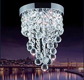 Crystal Chandelier Staircase Ceiling Light - Home Lighting LED Wall Kitchen Dining Room