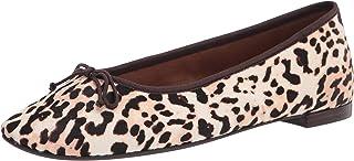 Aerosoles womens Homerun Ballet Flat, Bone Leopard, 6 Wide US