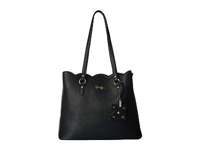 Jessica Simpson Reine Tote (Black) Tote Handbags